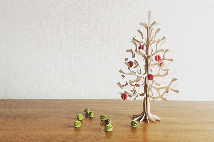 白樺クリスマスツリー