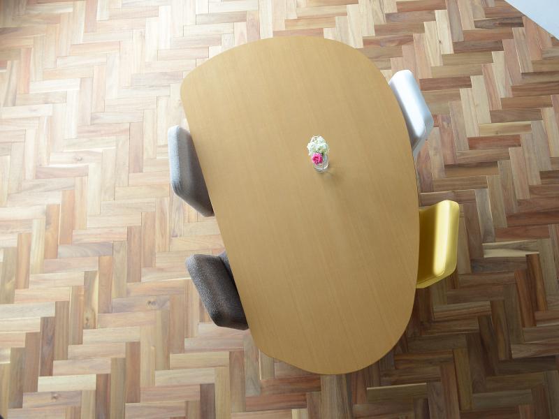 収納付き 変形ダイニングテーブルSHUNO