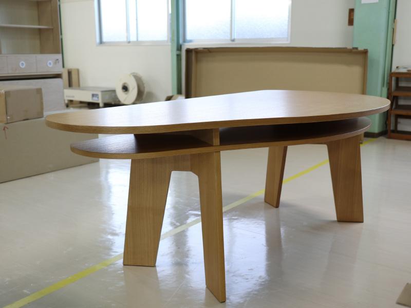 変形収納付きダイニングテーブルSHUNO