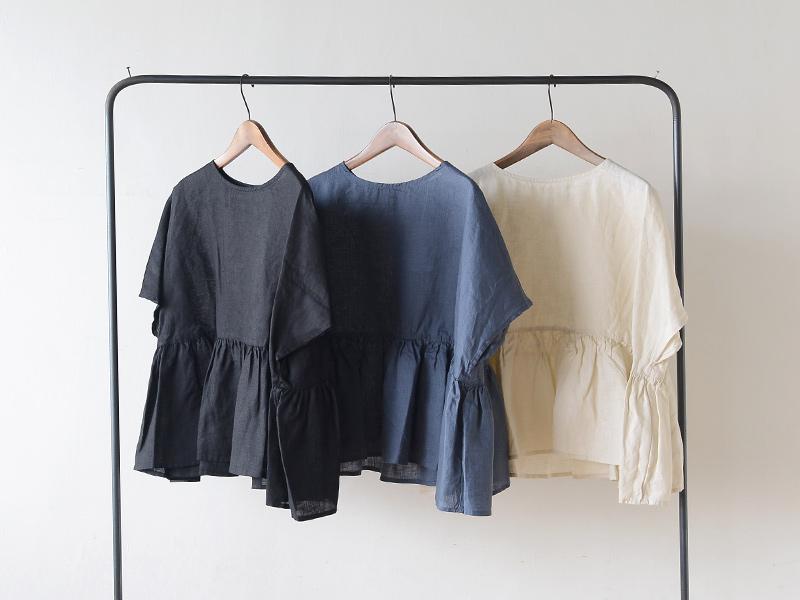【2020夏物】 fog linen work(フォグリネンワーク)ルペ トップ
