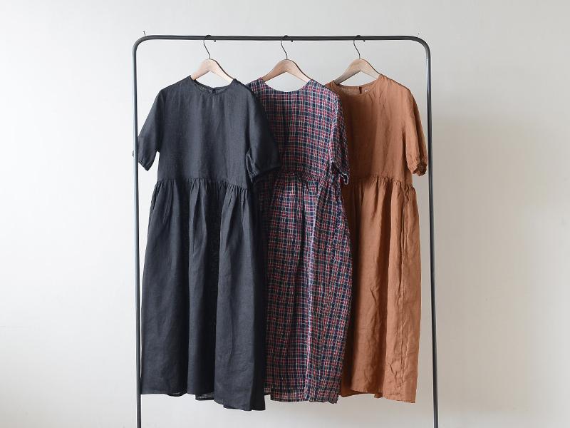 【2020夏物】 fog linen work(フォグリネンワーク)パキタ ワンピース