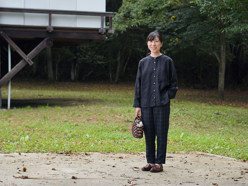 あっこたんと作る理想のお洋服 ていばんシャツブラック 秋限定カラー