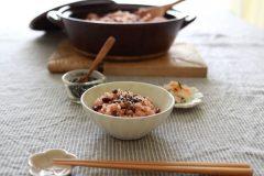 レシピ付*「土鍋でふっくらお赤飯」