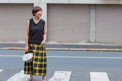 あっこたんと作る理想のお洋服はなうたノースリーブVブラック